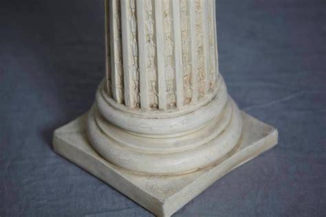 Plaster Pedestal Columns Style Plaster Pedestal Or Column With Chapiteau In