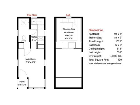 Small Scale Homes Tumbleweed Fencl In New York Tumbleweed Tiny House Floor Plans