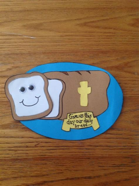 christian crafts for toddlers our daily bread bible craft for children s church