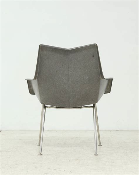 Paul Mccobb Origami Chair - low paul mccobb origami armchair in grey image 5