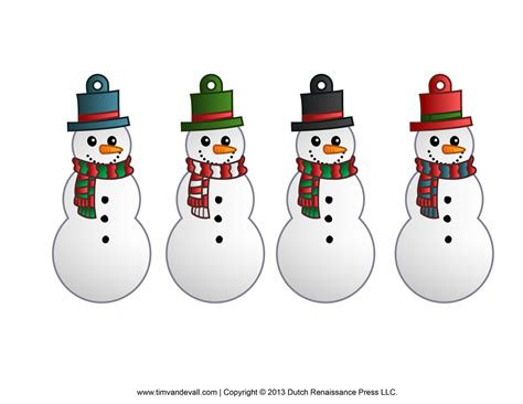free printable christmas ornament clipart 79