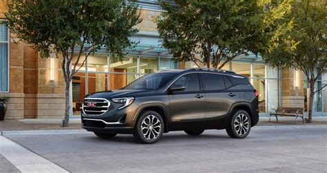 gmc terrain 2018 black 2018 gmc terrain arrives this summer and starts at 25 970