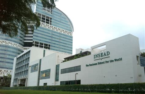 Mba Strategy Insead by Center In Asia Onward Singapore Artcenter News