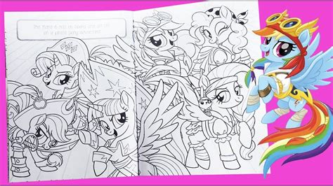 my coloring book my pony coloring for mlp colouring pages
