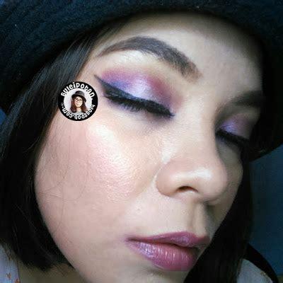 Bulu Mata Blue Eyelash Warna Biru Kode C 18 vibrant purple eyemakeup with bh cosmetics take me to