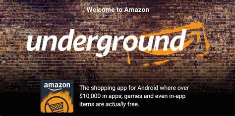 amazon underground amazon underground triplica la sua libreria di giochi