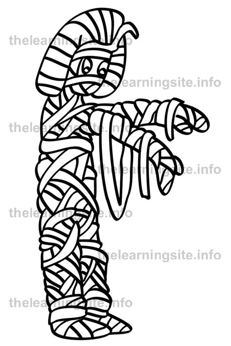 egyptian mummies coloring coloring pages