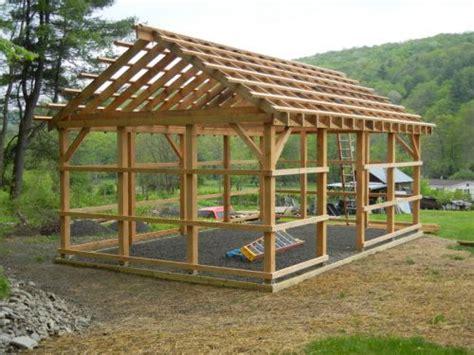 pole barn frame idea  pavilion    farm