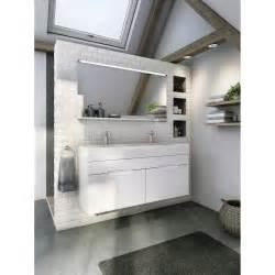meuble de salle de bains plus de 120 blanc beige