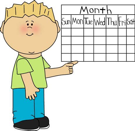calendar clipart 54 best images about daycare clip on