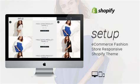 Shopify Themes Setup   setup ecommerce fashion store responsive shopify theme
