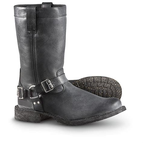 s durango 174 harness boots black 281540