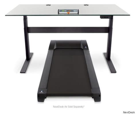 Small Treadmill Desk 6 Desks That Will Make You Happier And More Productive At Work Huffpost