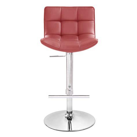 zuri bar stools brut adjustable height swivel armless bar stool zuri
