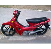 Honda Wave Tuning Roja