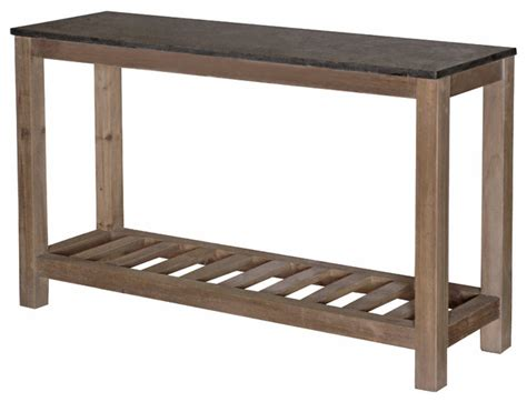 household essentials faux slate sofa table stone console table top quality console table design gold