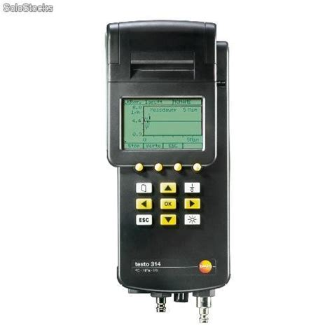 misuratore di portata misuratore di portata gas testo 314