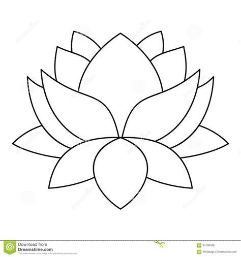 outline of lotus flower lotus outline www imgkid the image kid has it