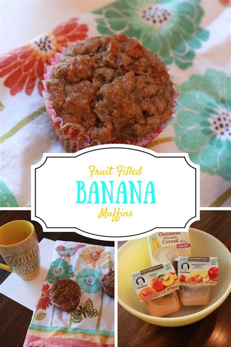 6 fruit families fruit filled banana muffins are a healthy and snack