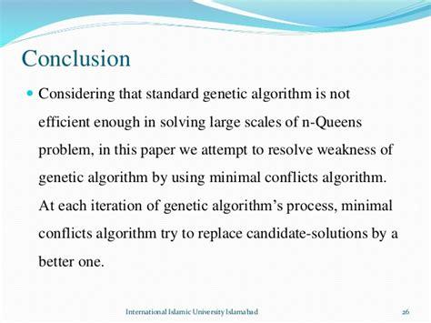 pattern recognition genetic algorithm modified genetic algorithm for solving n queens problem
