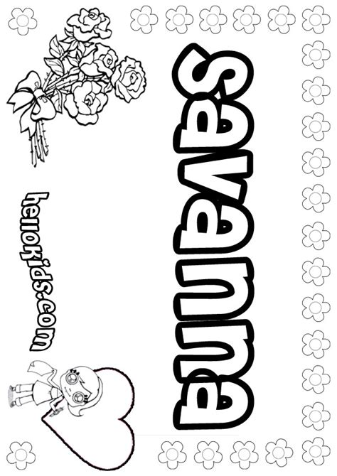 savanna coloring pages hellokids com