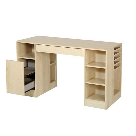 craft desk for south shore crea craft table maple the home