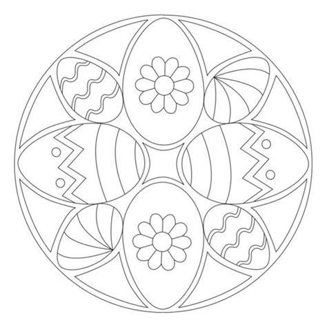 osterei mandala  ausmalbilder ausmalbilder ostern
