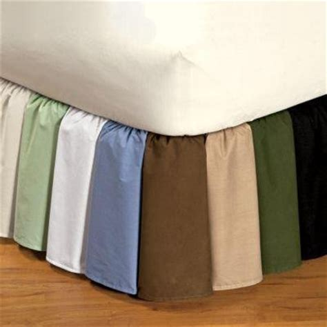 bed skirts twin twin xl solid white bed skirts 1000tc 100 pure egyptian