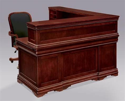 Executive Reception Desk 7684 68 Rue De Lyon Series Executive Reception Desk Dmi Office Furniture