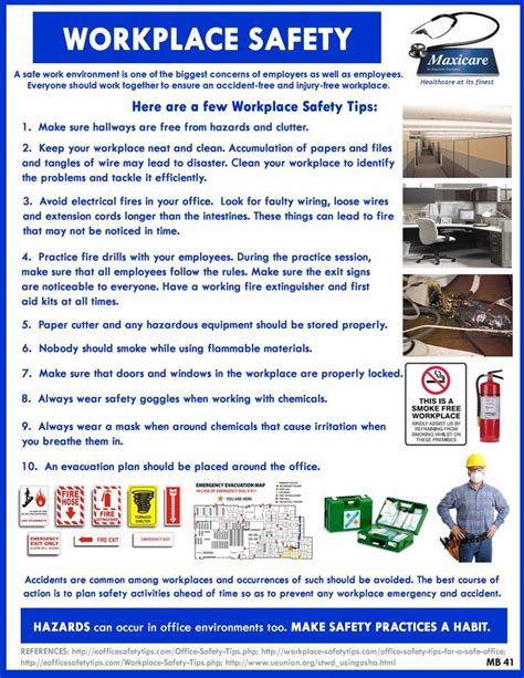 1000 images about safety tips in the workplace on