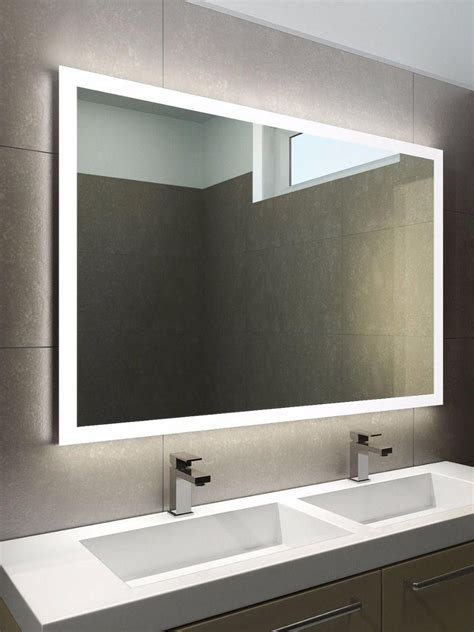 Modern Bathroom Mirrors With Lights by 20 Photos Led Lights For Bathroom Mirrors Mirror Ideas
