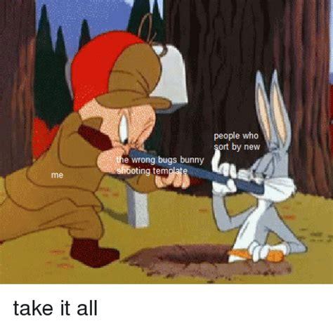 people  sort    wrong bugs bunny sho oting