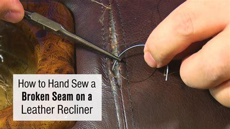 repair split in leather sofa how to repair a split seam in leather sofa catosfera