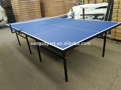 international standard ping pong table blue tennis table