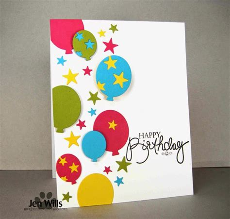 Happy Birthday Handmade Card Designs - happy birthday handmade card designs www imgkid
