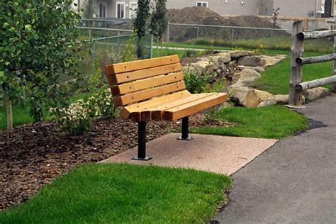 memorial benches canada series a benches custom park leisure