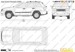 Jeep Grand Size The Blueprints Vector Drawing Jeep Grand