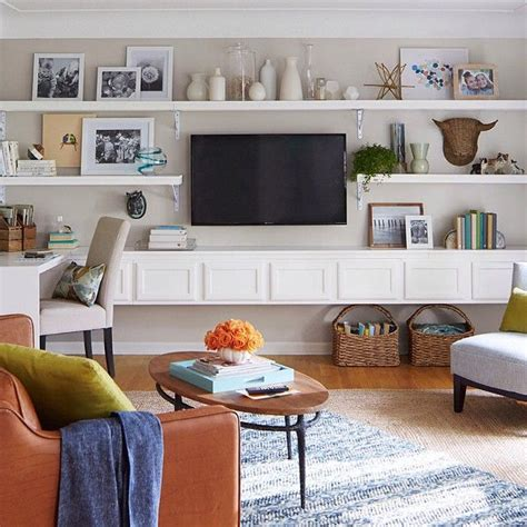 Diy Living Room Media Shelves 25 Best Ideas About Tv Wall Shelves On
