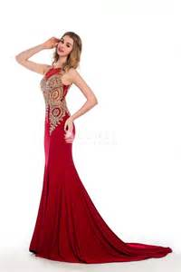 Home Design 3d Gold Review Gorgeous Gold Embroidered Ruby Sleeveless Mermaid Long