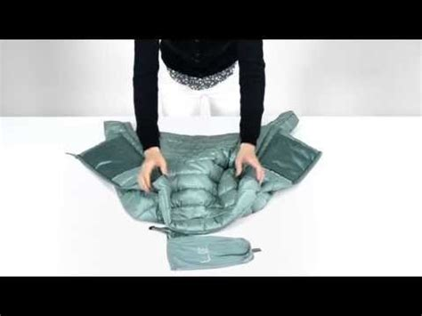ultra light jacket in a bag uniqlo how to fold your ultra light