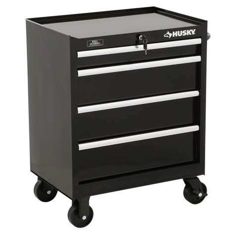 husky 5 drawer side cabinet husky 27 in w 4 drawer tool cabinet in black h4tr1r the