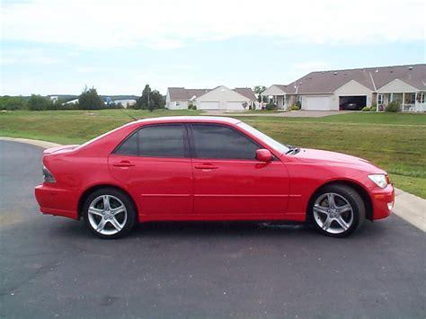 lexus is300 red fs 2002 red is300 black interior 5spd nav lsd club