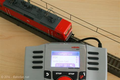mobile station header with the m 228 rklin mobile station 2 and dcc
