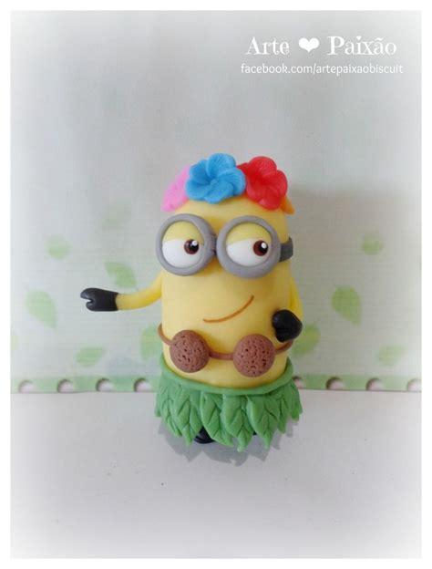 Modelling Clay Minion Phil minion havaiano despicable me minion cakes cakes and beaches