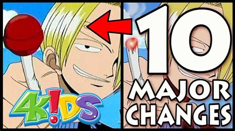 Anime 4kids by 10 Ways 4kids Changed One Censorship In Anime