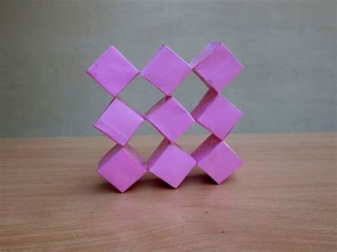 printable origami transforming cubes how to make a transforming paper cube easy tutorials