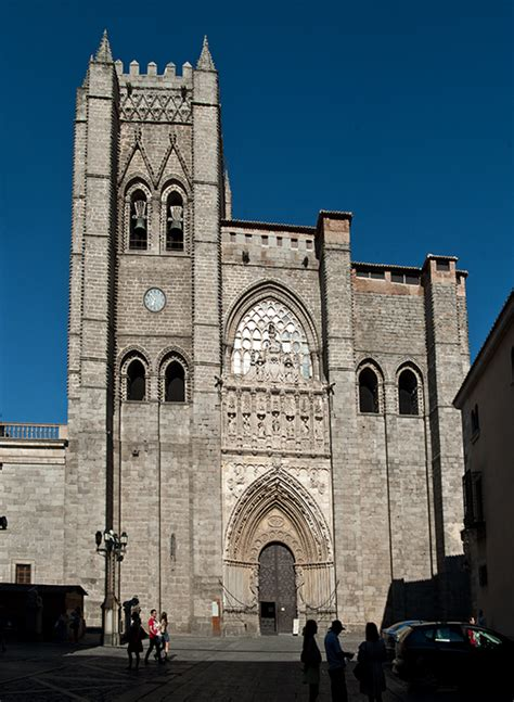 Delightful Spain Churches Cathedrals #4: Avila02.jpg