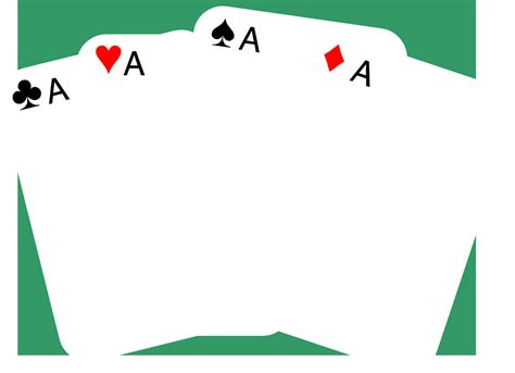 blank circle deck of cards template cards clip free cliparts co