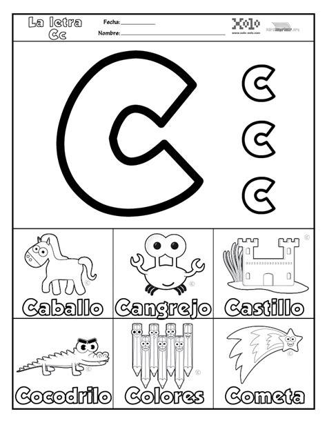 imagenes que empiecen con la letra c en ingles c para imprimir