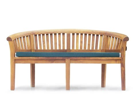 teak banana bench contemporary teak banana bench